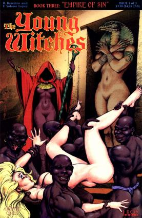 The Young Witches Book 3 – Empire of Sin - Erotic