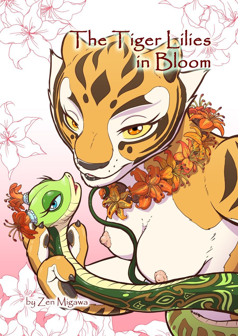 The Tiger Lilies in Bloom - Page 1