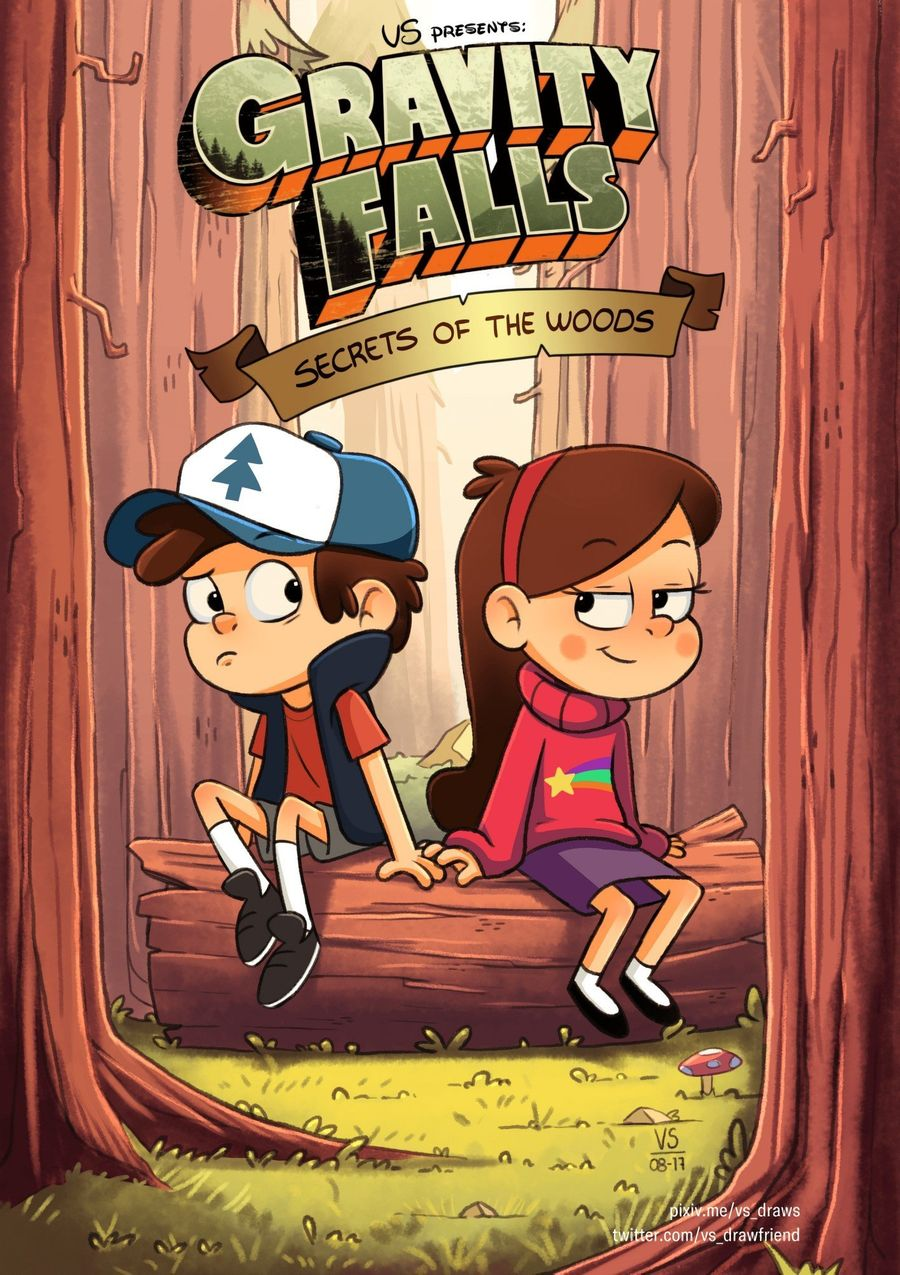 Gravity Falls - Secrets of the Woods - Page 1