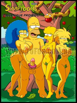 The Simpsons  - Forbidden Picnic - anal