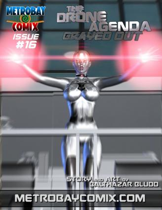 Metrobay- The Drone Agenda- Grayed Out 16- Trishbot - 3d