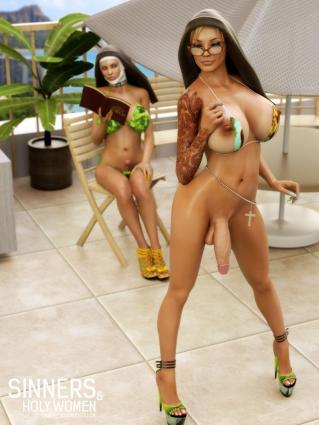 Sinners and Holy Women vol.1 - 3d