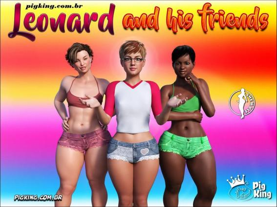 Pig King- Leonard and His Friends - 3d