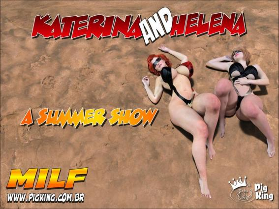 Katerina and Helena- A Summer Show (PigKing) - 3d