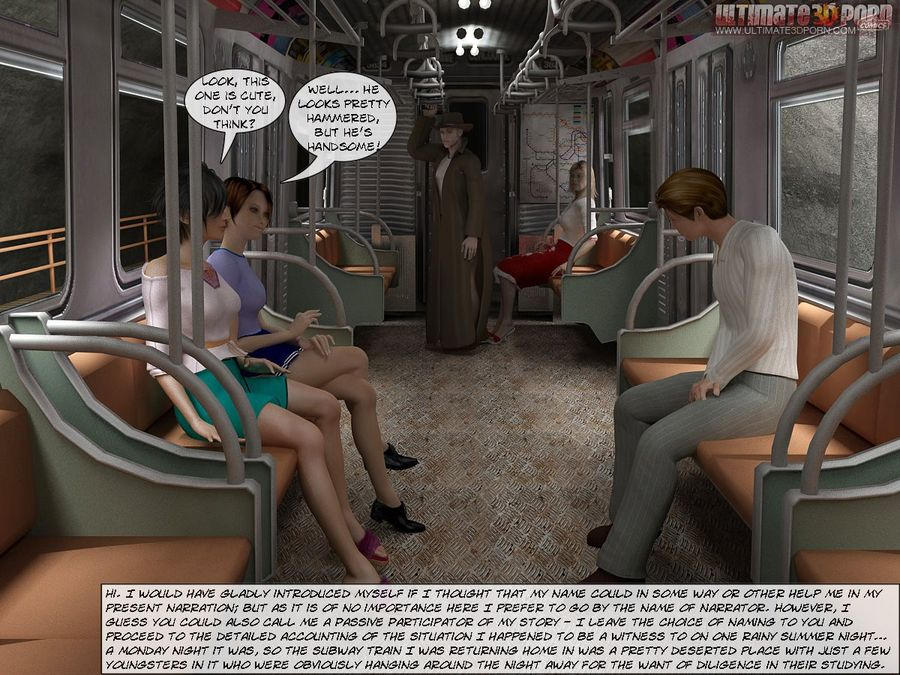 Sex In Subway- Ultimate3DPorn - Page 1