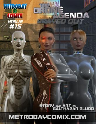 Metrobay- The Drone Agenda- Grayed Out 15- Trishbot - 3d