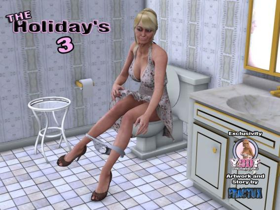 Y3DF- The Holiday's 3 - 3d
