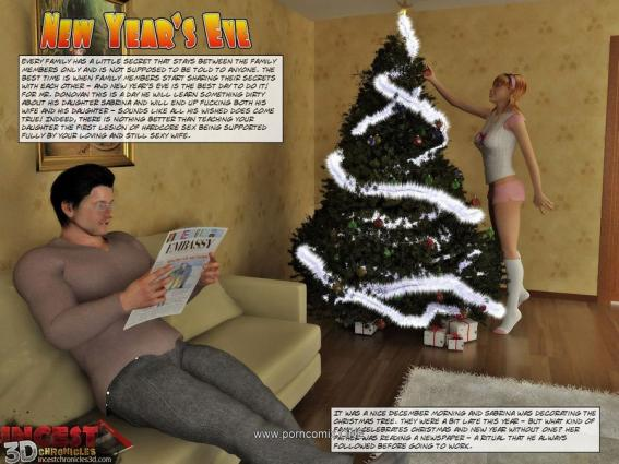 New Year's Eve – Inzest3dChronicles - 3d