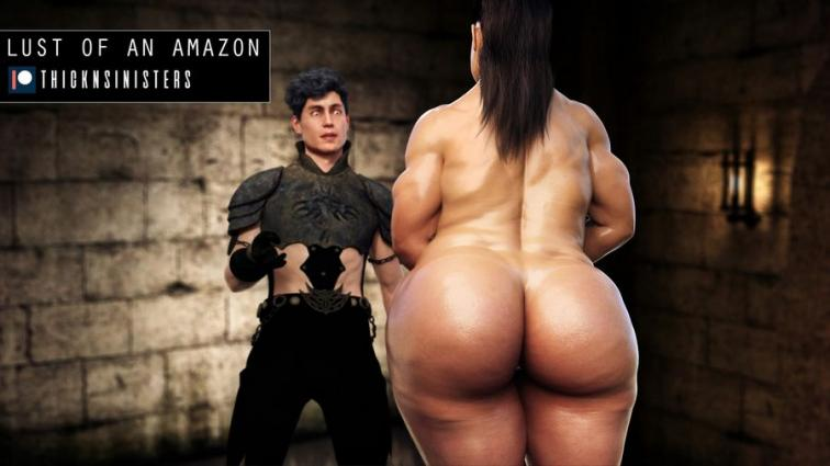 Lust of an Amazon- Thicknsinisters - 3d