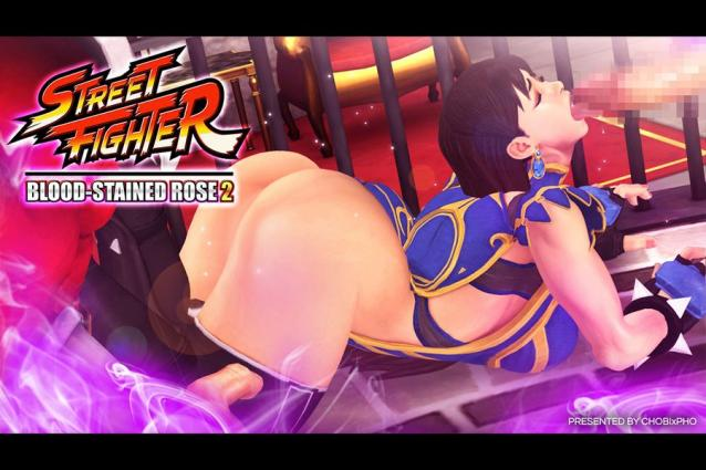 Street Fighter- The Bloodstained Rose 2 – Chobixpho - 3d