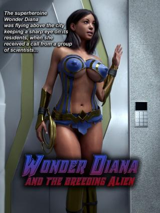 Wonder Diana and the Breeder - 3d
