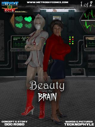 Metrobay- Beauty and the Brain #1- Tecknophyle - 3d